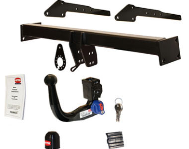 Swan Neck Detachable Tow Bar